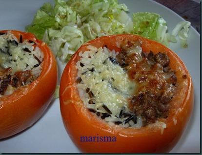 tomates rellenos de carne y arroz,racion1