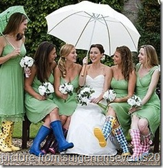 bride-and-ladies-in-rain-boots