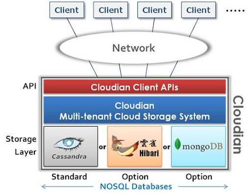 Cloudian Multi-tenant Cloud Storage System