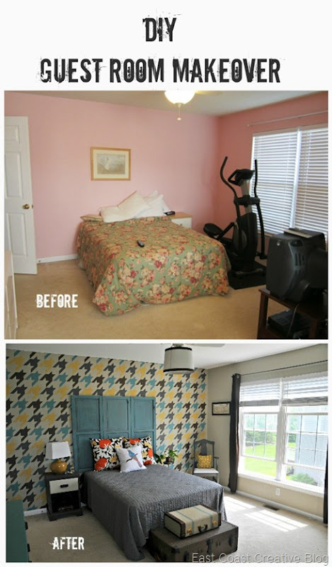 DIY Guest Room Makeover