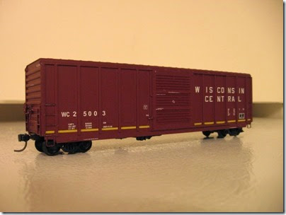 IMG_1117 Wisconsin Central 25003 Boxcar by Athearn