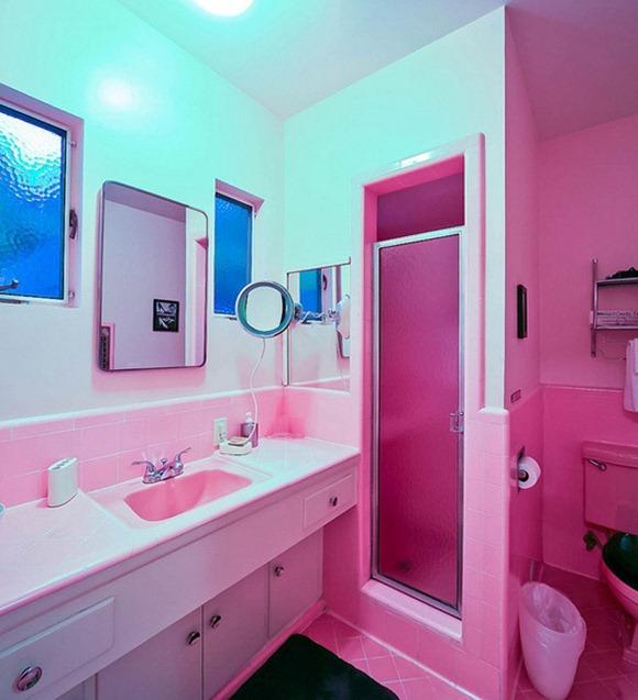 15 modelos de ba os color rosa para mujeres idecorar for Cuartos de bano rosa