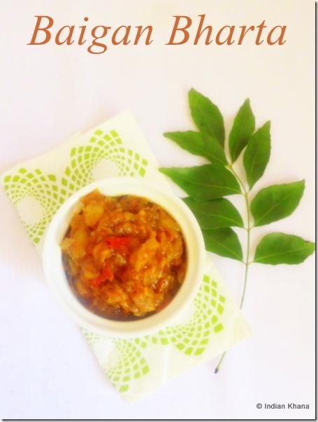 Baigan Bharta Recipe smoked eggplant  chutney