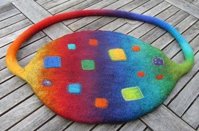 Regenbogen-Beutel-Ei neu