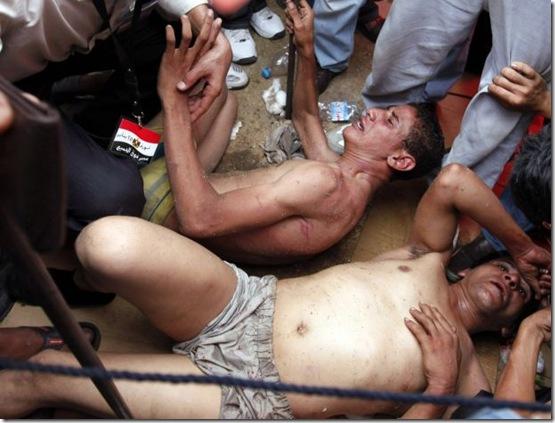 Dois homens agredidos
