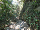 Rocky section on the way up Ili Mandiri (Dan Quinn, July 2013)