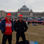 the boys at the beach in Scheveningen, Zuid Holland, Netherlands