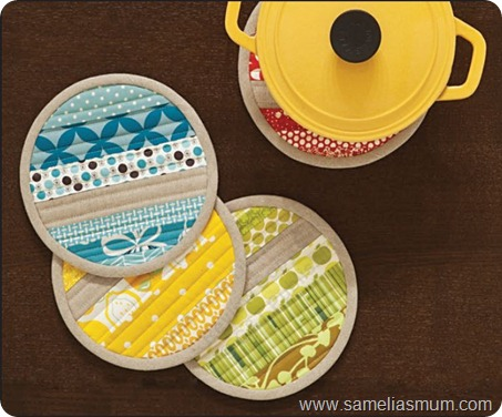 Zakka Patchwork Pot Holder