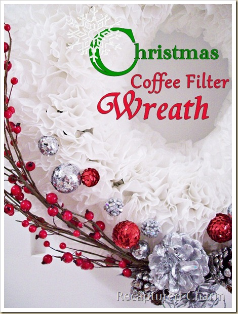 Coffee Filter Christmas Wreath2 041b