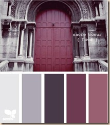 color scheme sacre coeur