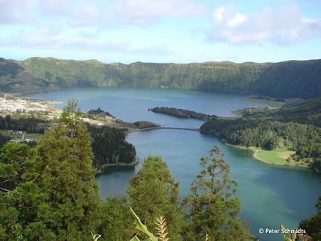 Lacul Sete Citades Azore