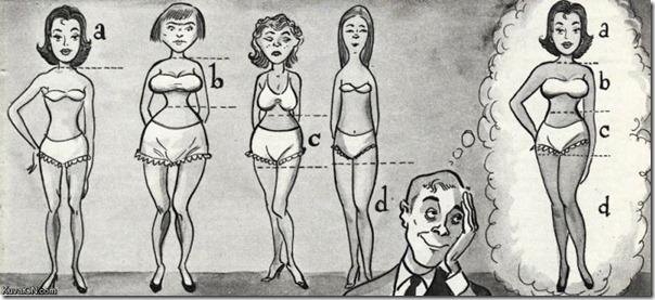 A mulher perfeita para o homem