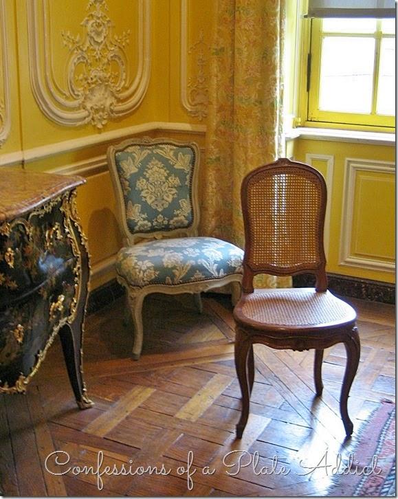 Chaises au Musée Carnavalet
