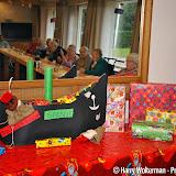 Sinterklaas in woonzorgcentrum de Clockstede Nieuwe Pekela - Foto's Harry Wolterman