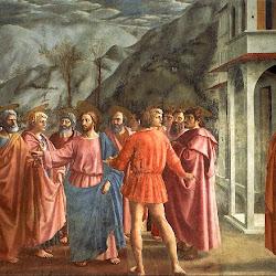 43 - Massaccio - Escena del Pago del tributo