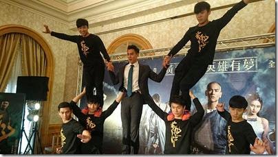 2014.11.27 Eddie Peng during Rise of the Legend - 彭于晏 黃飛鴻之英雄有夢 台北 01
