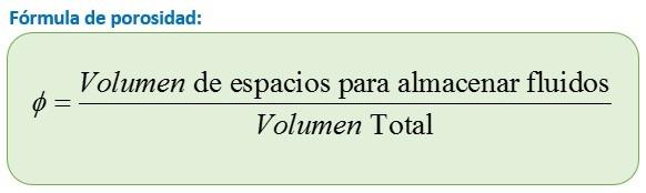 formula de porosidad