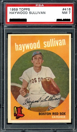 1959 Topps 416C Haywood Sullivan front normal