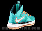 nike lebron 10 gr miami dolphins 1 08 Gallery: Nike LeBron X Miami Setting or Dolphins if you Like