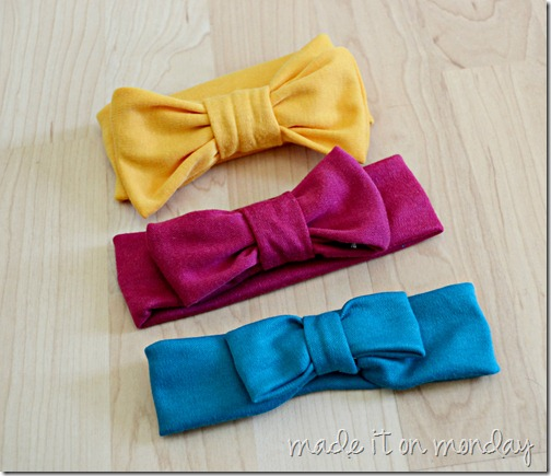 Soft and Comfy Bow Headbands
