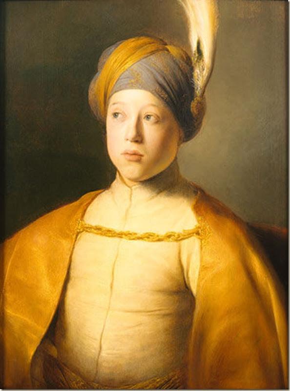 Jan Lievens, Jeune homme en costume turc