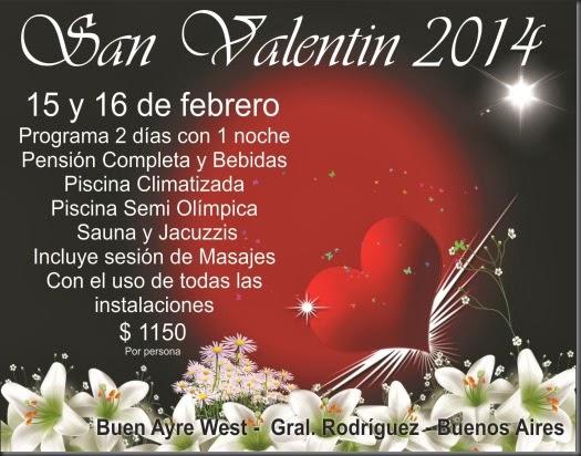 San Valentin 2014