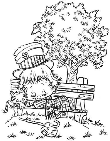 desenhos-colorir-menino-dormindo