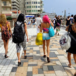 on our way towards the beach in Fujisawa, Kanagawa, Japan