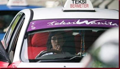 Taksi Unik Khusus Wanita di Malaysia 3