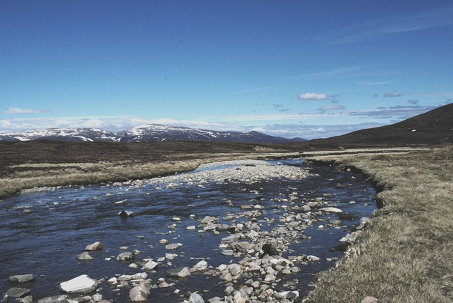 ANDY'S PIC OF THE UPPER UPPER FESHIE & CAIRNGORMS