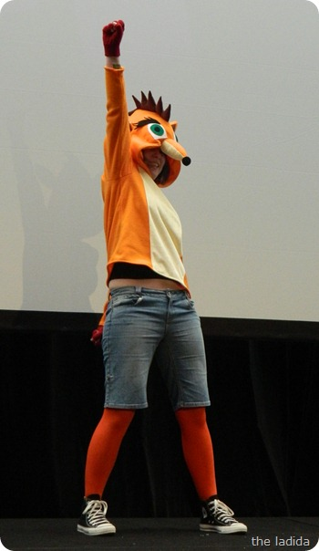 EB Expo Just 'Cos Cosplay Competition - Crash Bandicoot