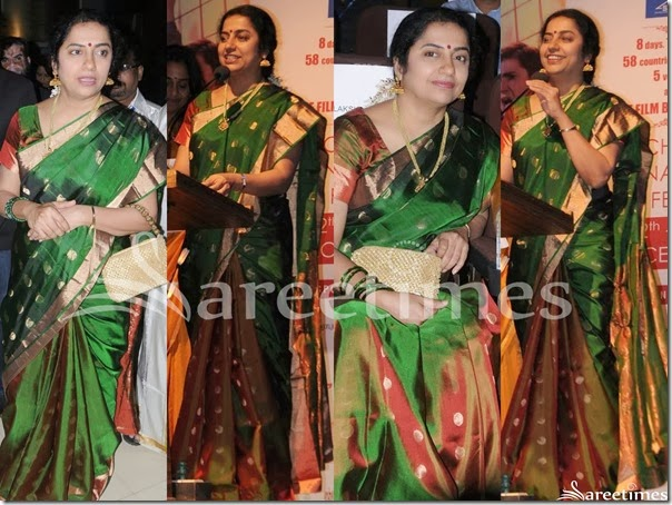 Suhasini_Green_Traditional_Silk_Saree