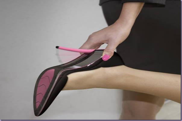 Salto-Retrátil-Sapato-Dirigir