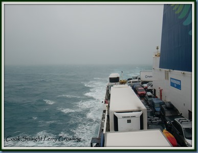 Cook Straight Ferry Crossing