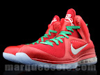 nike lebron 9 gr christmas 4 02 Throwback Thursday: Look Back at LBJs 2011 Christmas Shoes