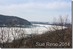 Ice on the Susquehanna River, 2/2014, by Sue Reno, Image 6