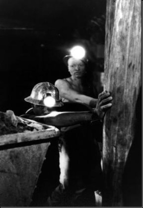 SOUTH AFRICA — In the Witwatersrand gold mines, 1962.