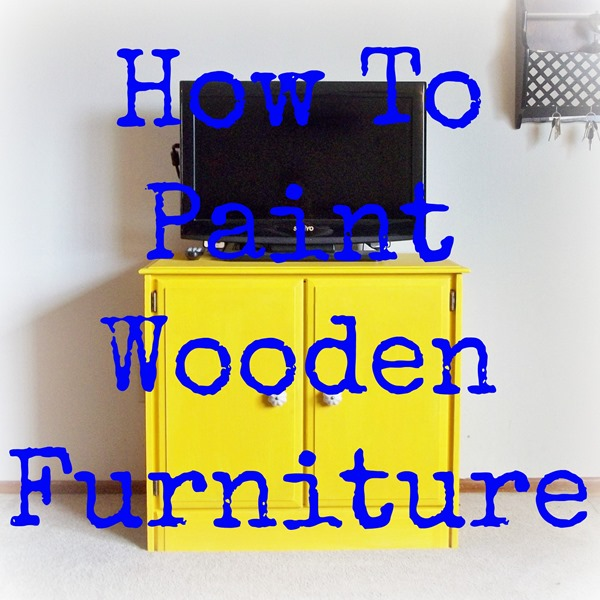 Painted Wooden Chairs how to paint wood furniture - simple moments stick