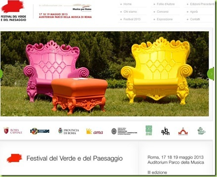 roma auditorium 2013 Festival del verde e del paesaggio
