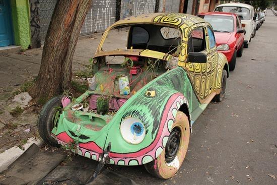 Carros abandonados Felipe Carelli 01