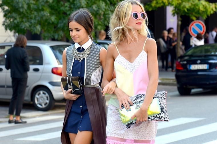 NobodyKnowsMarc.com Gianluca Senese Milan fashion week street style miroslava duma natalie joos  (1)
