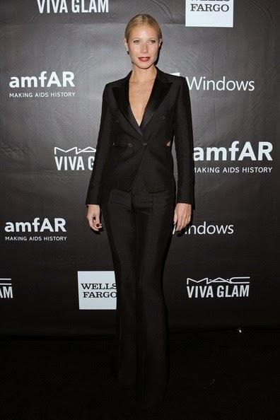 Gwyneth Paltrow Arrivals amfAR Inspiration