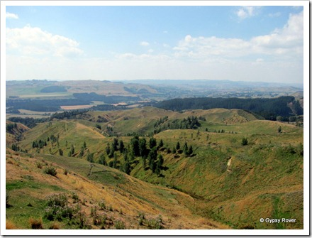 Views across the Rangitikei from Stormy Point.