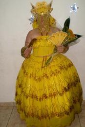 Roupa de Oxum