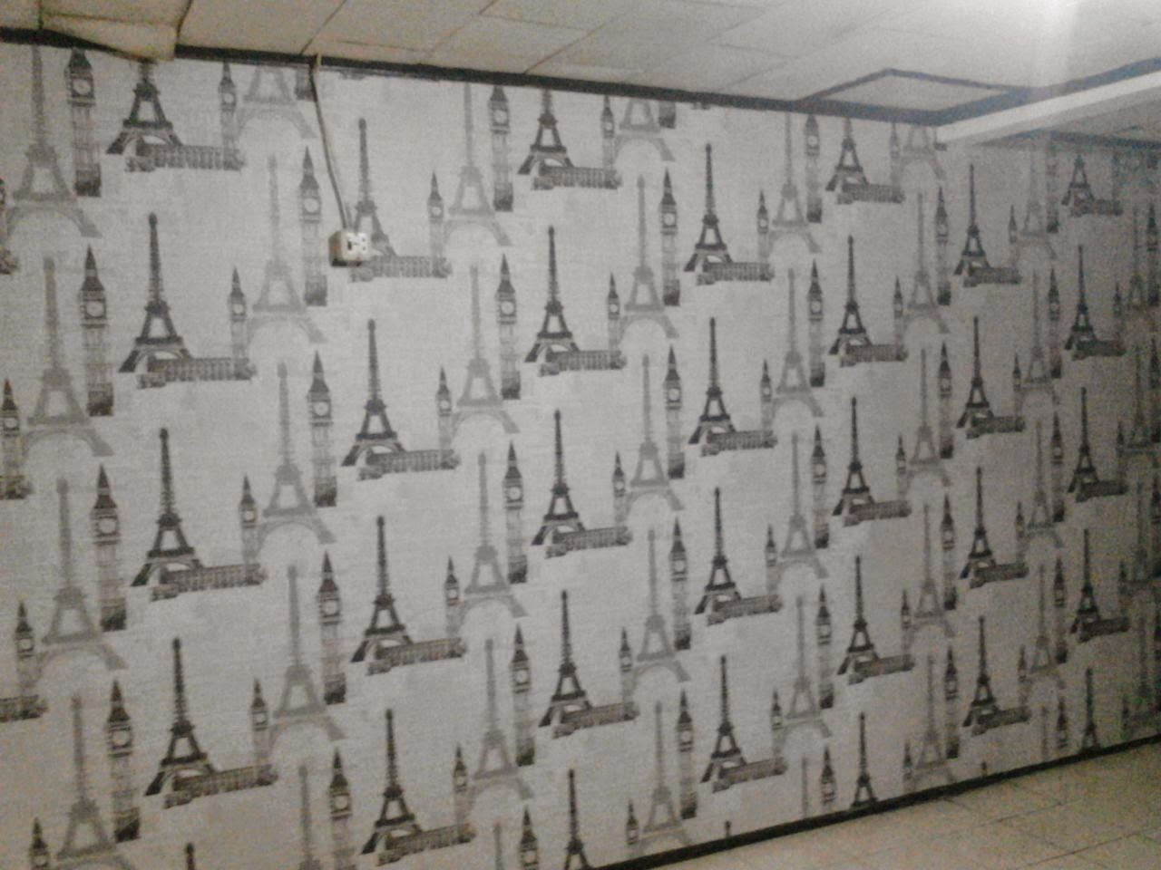 Wallpaper Wallsticker Lantai Kayu Lantai Vynill Carpet Custom