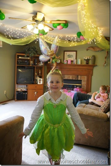 disney tinkerbell party decoration ideas