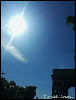 Soleil parisien...