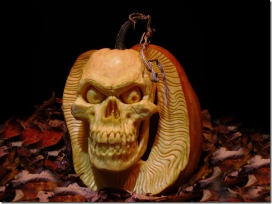 awesome pumpkin carving 13