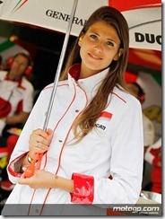 Paddock Girls Monster Energy Grand Prix de France  20 May  2012 Le Mans  France (9)