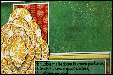 Daisy-Vine Background, Bookmark Verses, Our Daily Bread designs